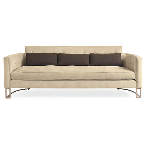 "Anselma 88"" Sofa, Cream"
