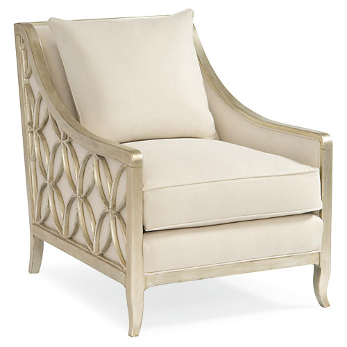 Sutton Club Chair, Neutral