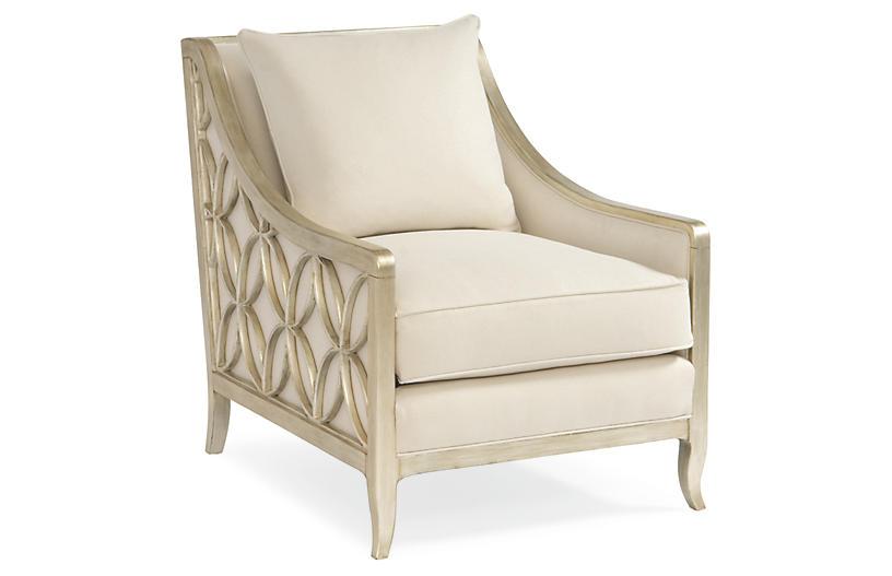 Sutton Club Chair, Neutral