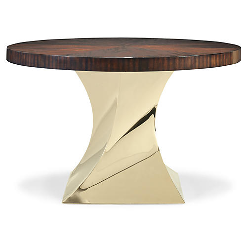 Twister Dining Table, Mahogany