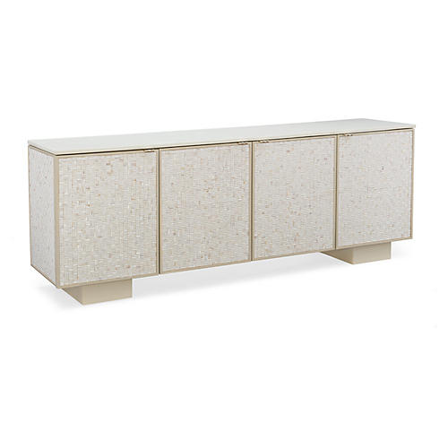 Shell Sideboard, Ivory