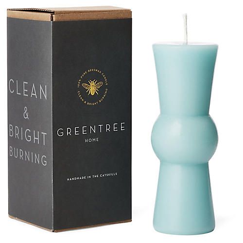 Josee Candle, Robin's-Egg Blue
