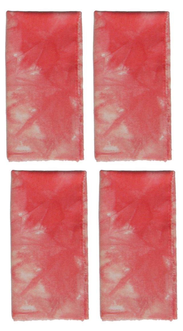 Coral Napkins, Set of 4