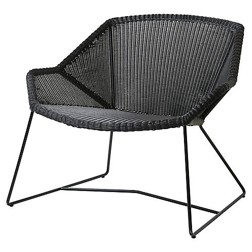 Breeze Club Chair, Black
