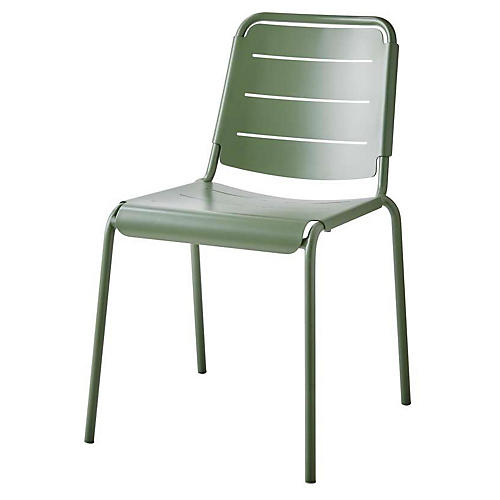 Copenhagen Side Chair, Olive Green