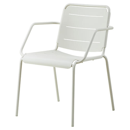 Copenhagen Armchair, White