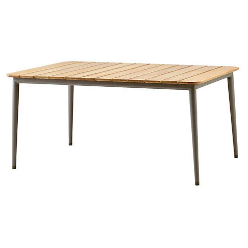 Core Dining Table, Taupe