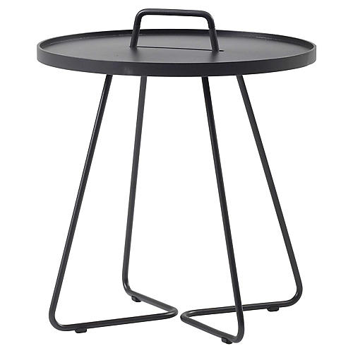 On-The-Move Side Table, Black