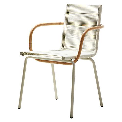Sidd Armchair, White