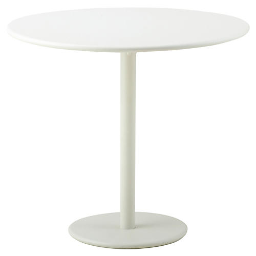 Go Café Bistro Table, White