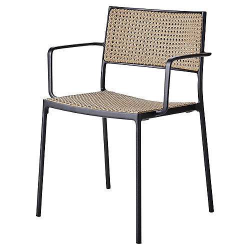 Less Armchair, Lava Gray