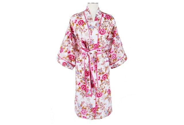 S/M Kimono Robe, Pink