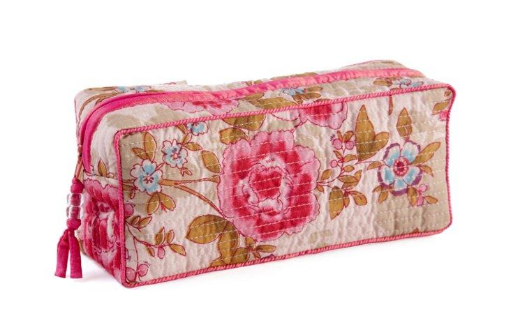 Clutch Make Up Bag, Pink Beautiful