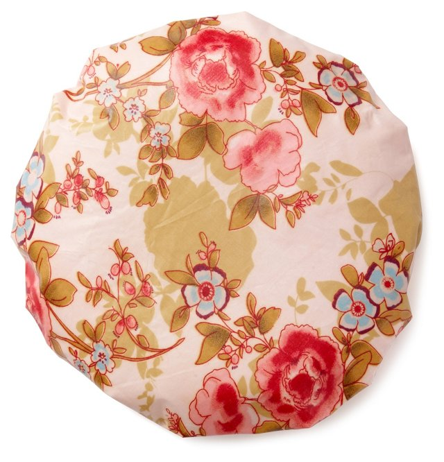 Waterproof Shower Cap, Pink Beautiful