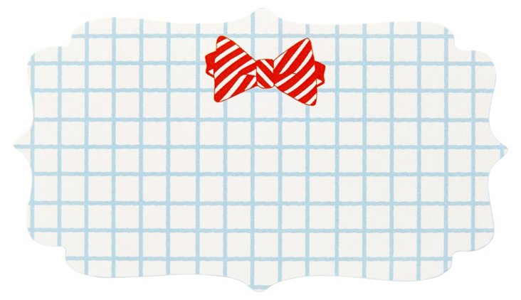 S/40 Die Cut Stickers, Bow Tie