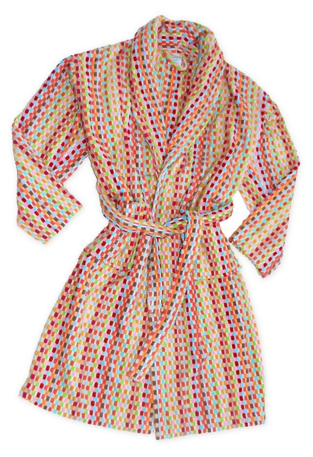 S/M Turkish Robe, Pinks