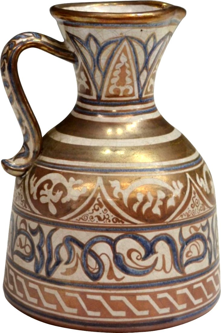 Spanish Luster Ware Pitcher