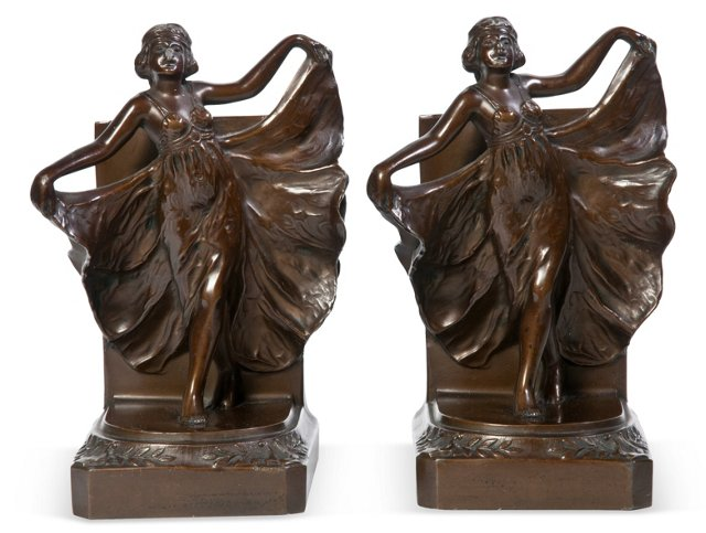 1920s Bookends