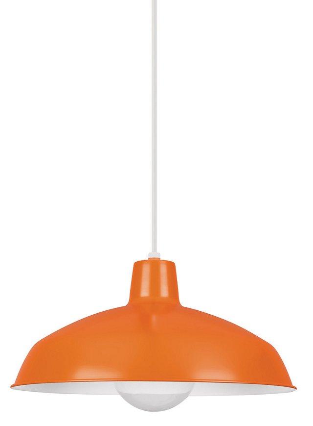 Danny 1-Light Pendant, Orange