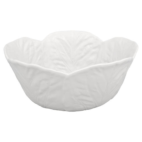 Cabbage Salad Bowl, Beige