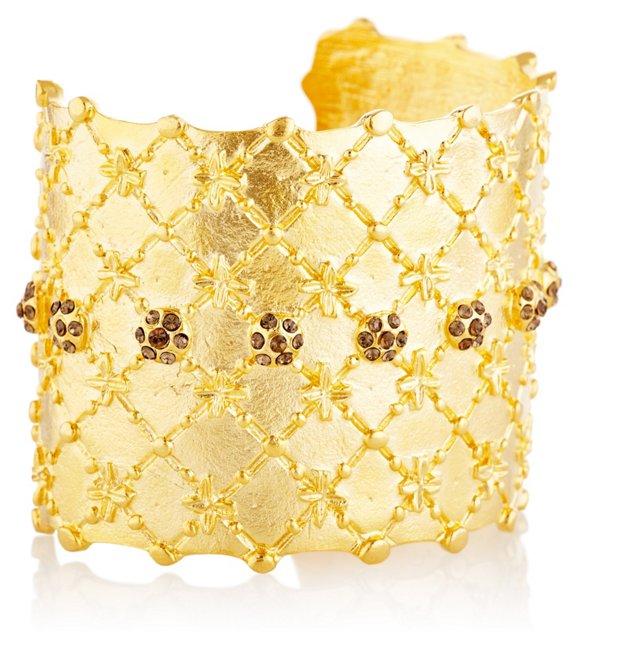 Gold-Plated Venice Cuff