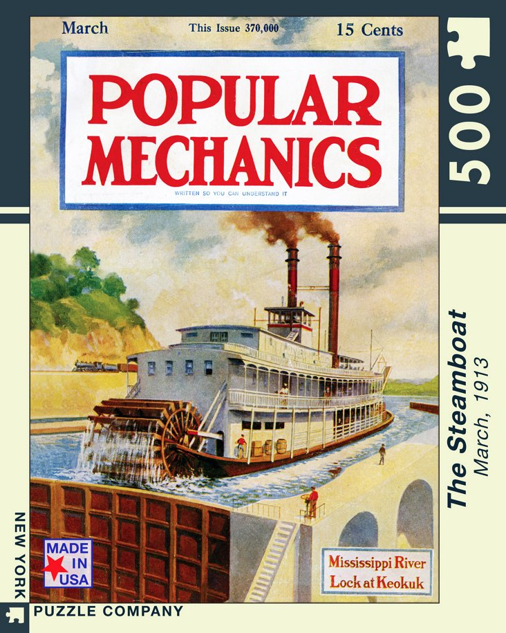 The Steamboat Jigsaw Puzzle