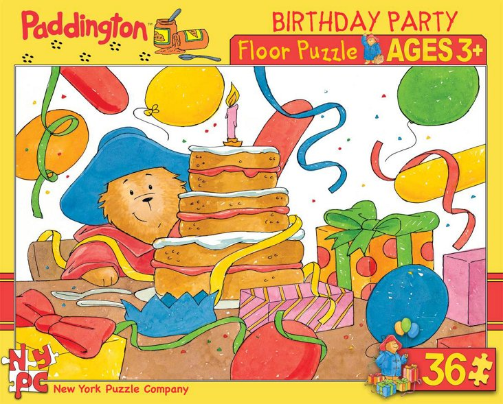Paddington Birthday Floor Puzzle