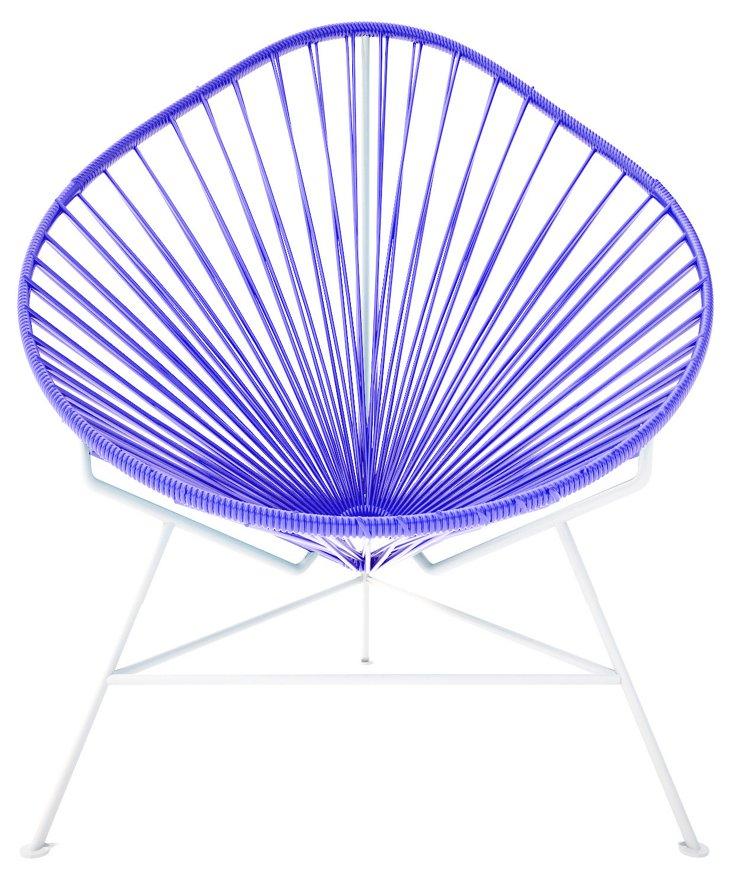 Acapulco Chair, Purple