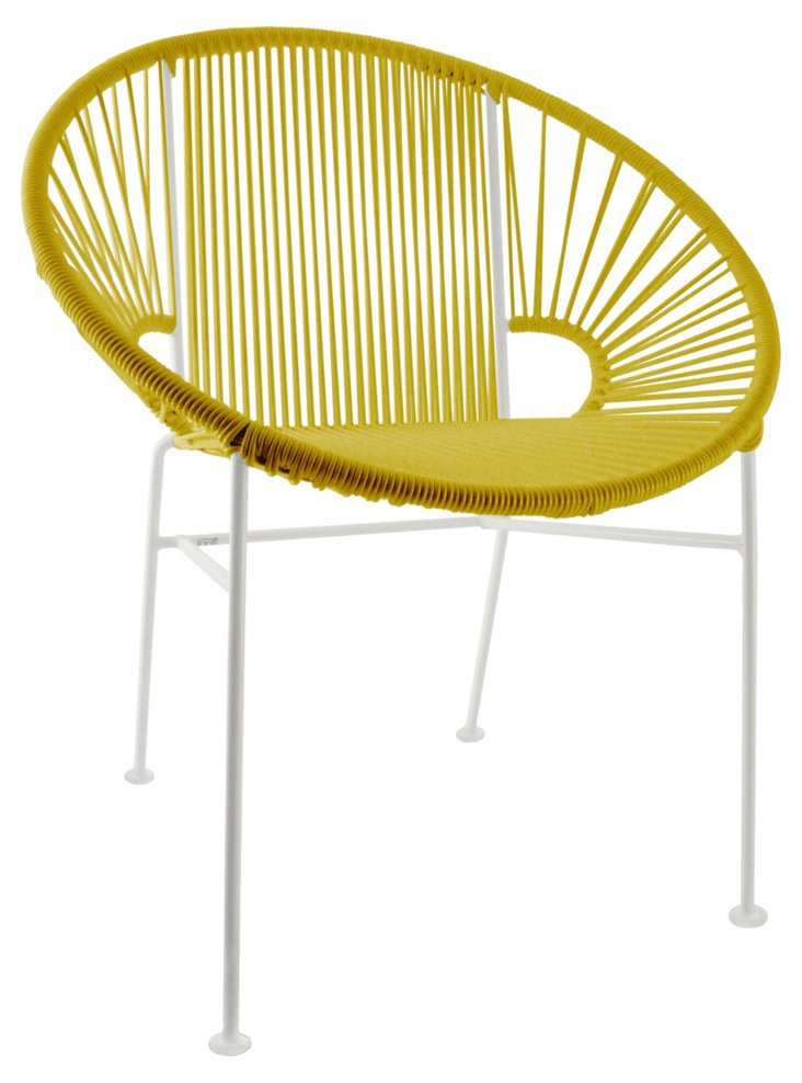 Concha Chair, Yellow
