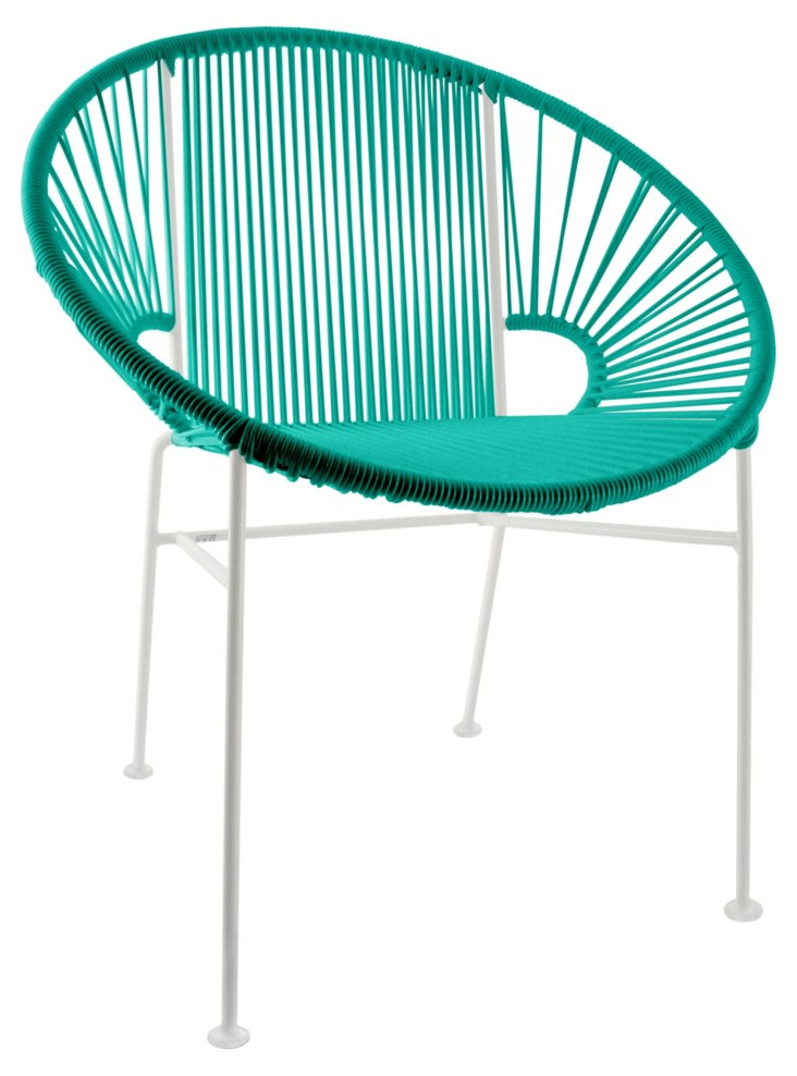 Concha Chair, Turquoise