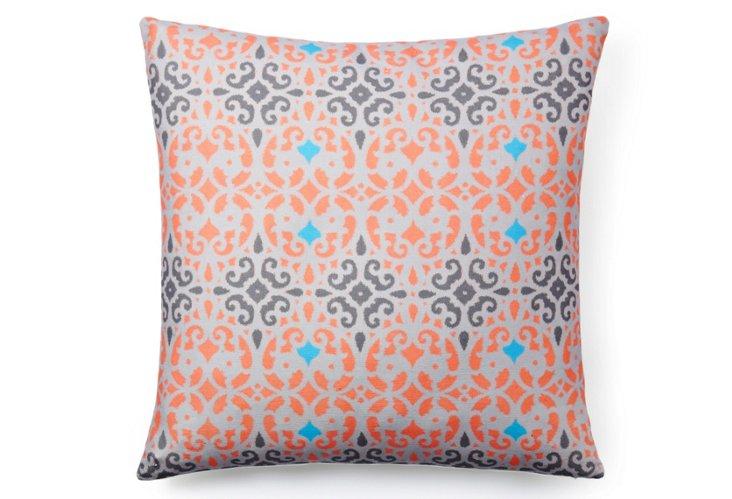 Linden 20x20 Pillow, Coral