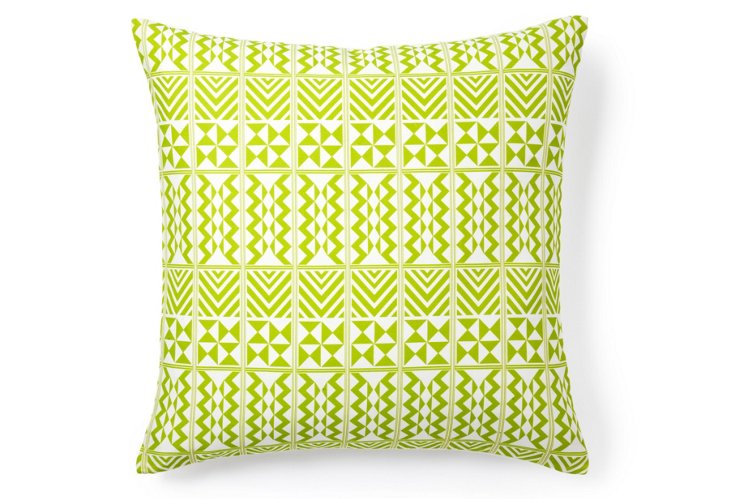 Hamman 20x20 Pillow, Celery