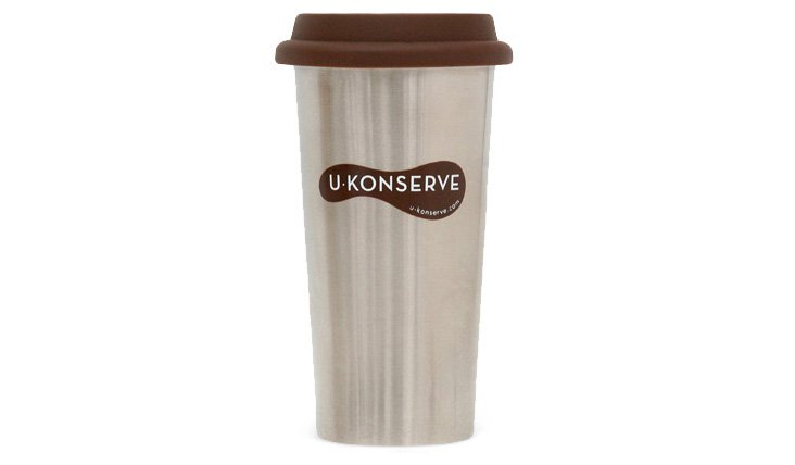 16 Oz Stainless Insulated Coffee Cup