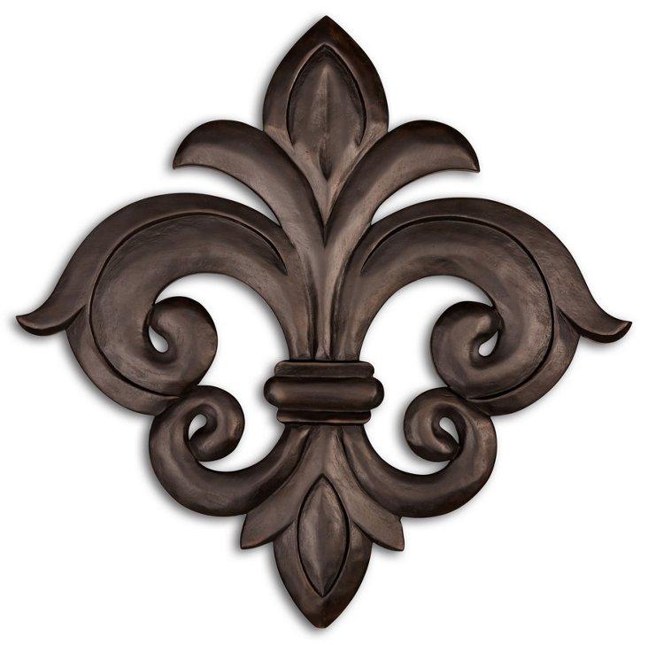 Versailles Wall Medallion, Brown