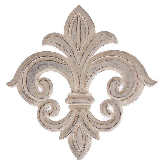 Versailles Wall Medallion, White
