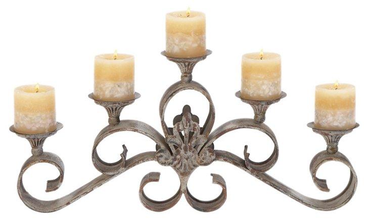 Orleans 5-Candle Holder