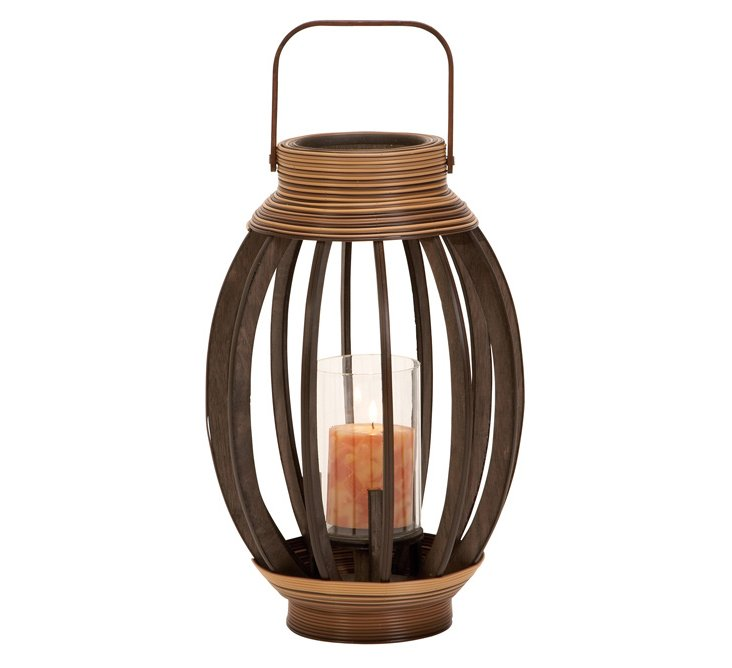 Egg Shaped Bamboo Lantern