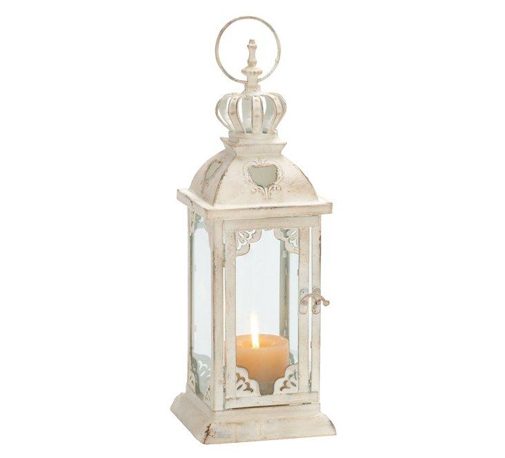 """16"""" Royal White Lantern"""