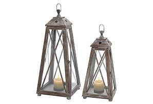 S/2 Pyramid Lanterns