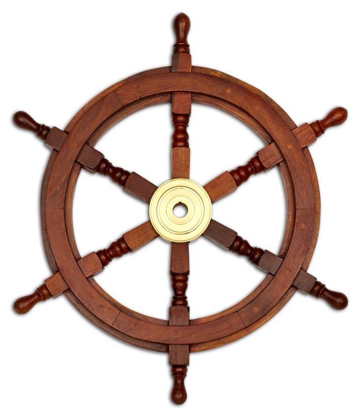 """25"""" Ship's Wheel"""