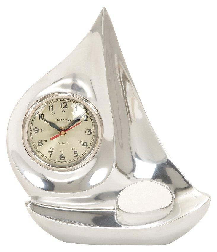 "13"" Sailboat Clock"