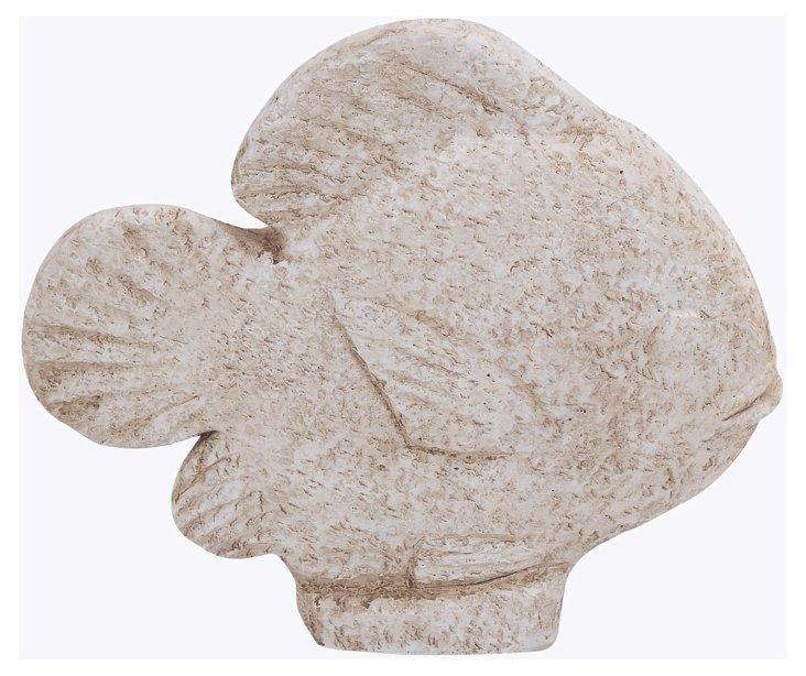 Fish Objet, Distressed White