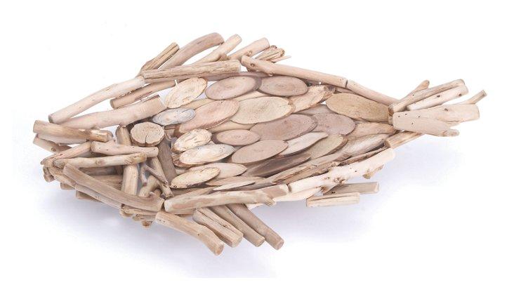 Driftwood Fish Tray