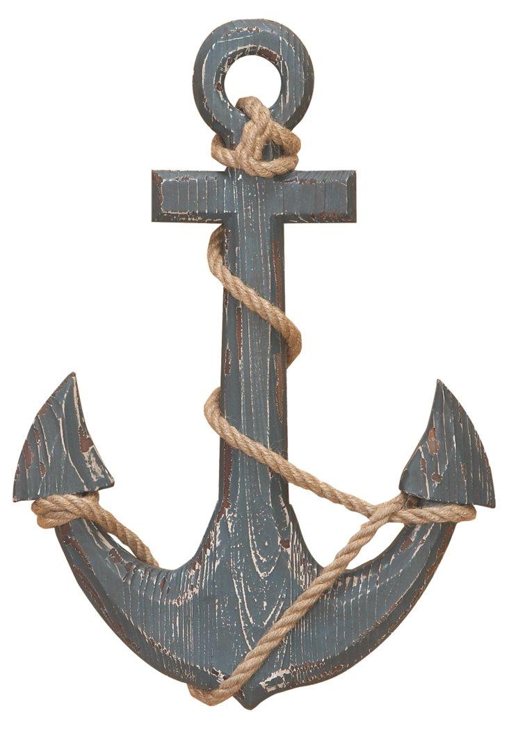 "18"" Wooden Anchor"