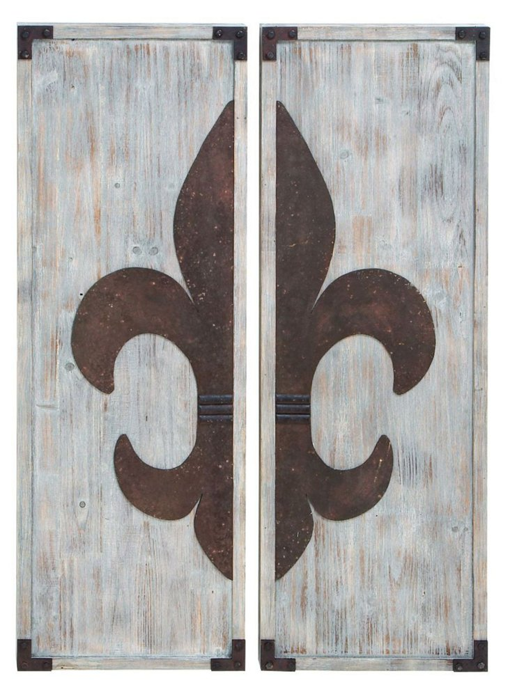 Asst. of 2 French Country Wall Panels