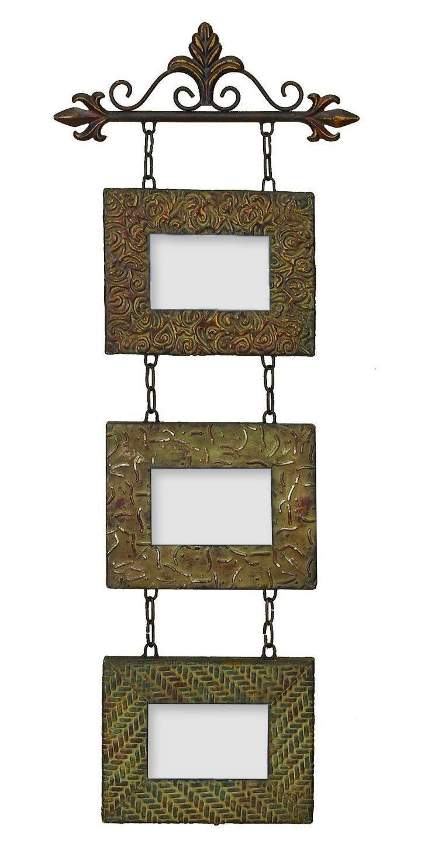 Metal Wall 3 Photo Frames