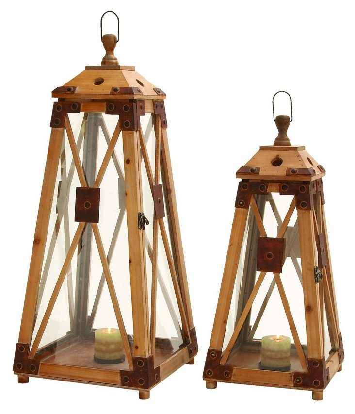 S/2 Lighthouse Lanterns