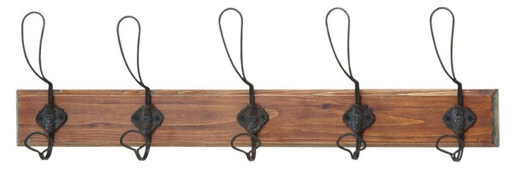 Rustic Wire Wall Hooks