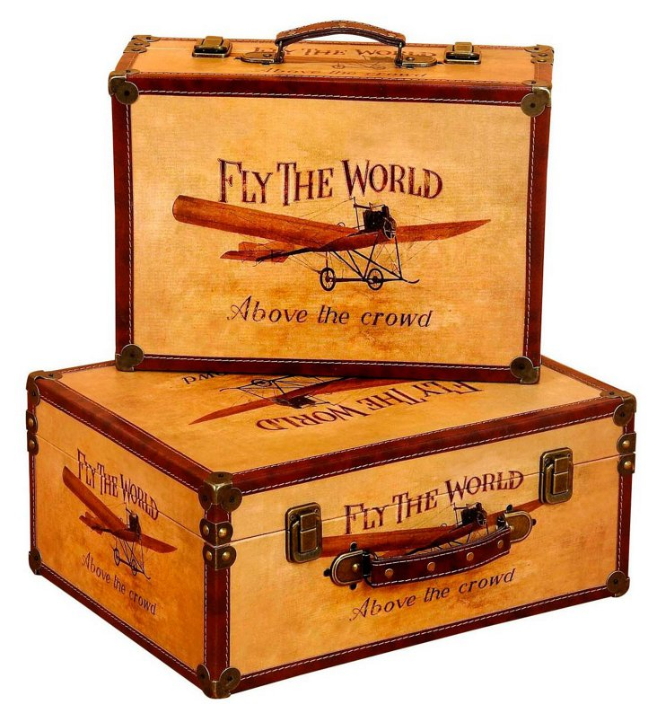 Asst. of 2 Fly the World Boxes