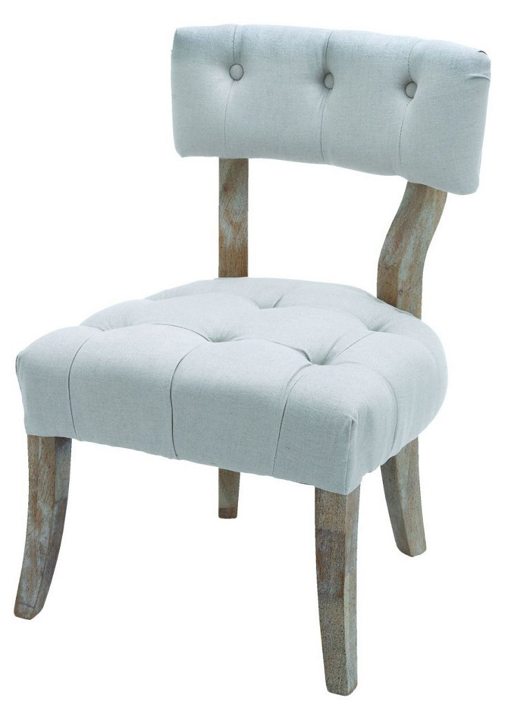 Plum French Chair